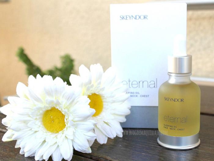Eternal Sleeping Oil, cosmetica Skeyndor | Centro de belleza y estética Cristina Herráiz