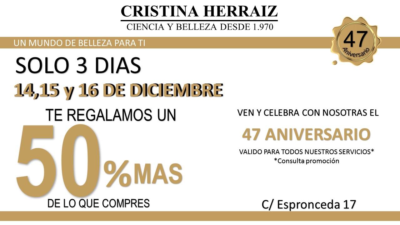 Centro-de-estética-y-belleza-en-Madrid-Cristina-Herraiz-Aniversario